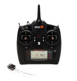 SPEKTRUM SPM6755 DX6 DSMX 6 CHANNEL TRANSMITTER G3 WITH AR6600T MODE 2