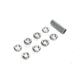 SPEKTRUM SPMA1304 SPEKTRUM RADIO SWITCH NUTS (SILVER)