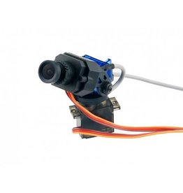 FATSHARK FSV1205 700TVL WDR CMOS CAMERA ON PAN/TILT MOUNT