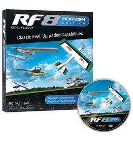 REALFLIGHT RFL1001 REALFLIGHT RF8 HORIZON HOBBY EDITION SOFTWARE ONLY VERSION