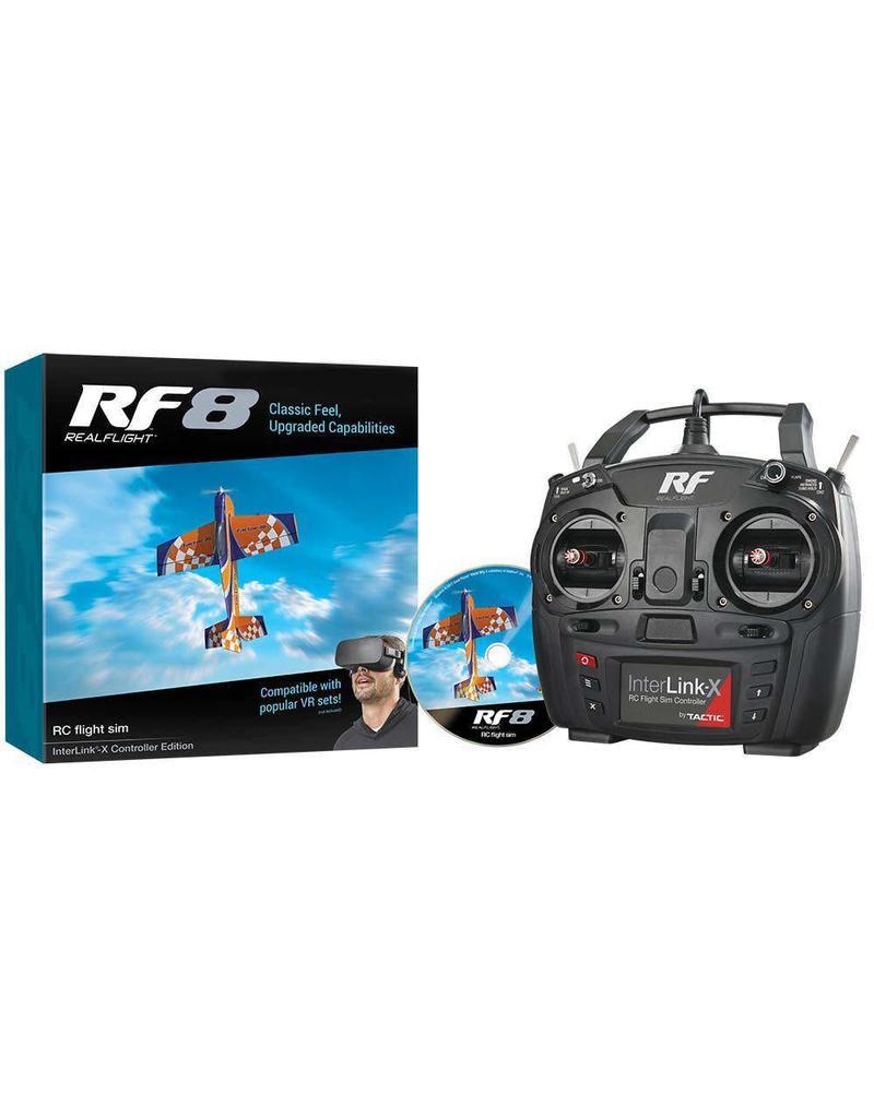 REALFLIGHT GPMZ4550 REALFLIGHT RF8 INTERLINK-X, MODE 2