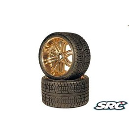 SWEEP RACING SRC0001Z ROAD CRUSHER BELTED TIRE GOLD