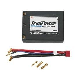TRAKPOWER TKPC0626 LIPO 2S LIPO 7.4V 5800mAH 90C BATTERY: DEANS