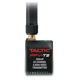 TACTIC TACZ5005 200mW FPV-T2 32 CHANNEL 5.8GHZ VIDEO TRANSMITTER