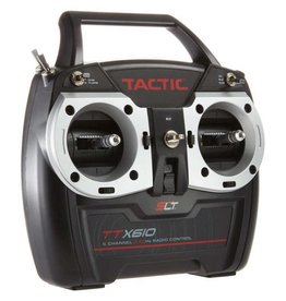 TACTIC TACJ2610 TTX610 6 CHANNEL 2.4GHZ SLT TRANSMITTER WITH TR625