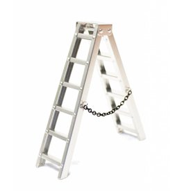 RACERS EDGE RCE3402 SCALE ALUMINUM STEP LADDER 100MM