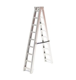RACERS EDGE RCE3403 SCALE ALUMINUM STEP LADDER 150MM