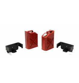 RACERS EDGE RCE3404 SCALE PLASTIC GASOLINE JUGS