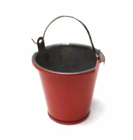 RACERS EDGE RCE3405 1/10 SCALE SMALL TIN PAIL RED