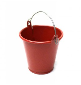 RACERS EDGE RCE3406 1/10 SCALE LARGE TIN PAIL RED