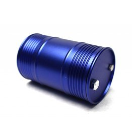 RACERS EDGE RCE3408BL 1/10 SCALE ALUMINUM OIL DRUM BLUE