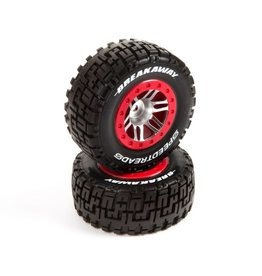 DYNAMITE DYN5117 SPEEDTREADS BREAKAWAY SC TIRES 2WD REAR, 4WD FR/RR