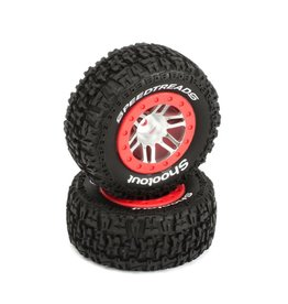 DYNAMITE DYN5126 SPEEDTREADS SHOOTOUT SC TIRES FR/RR (2)