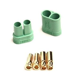 CASTLE CREATIONS CSE011006500 4MM POLARIZED BULLET CONNECTOR SET