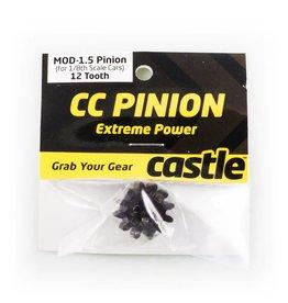 CASTLE CREATIONS CSE010006523 PINION GEAR 12T 1.5 MOD