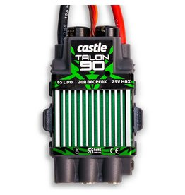 CASTLE CREATIONS CSE010009700 TALON 90AMP HELI ESC, 6S WITH 5.5MM CONNECTORS