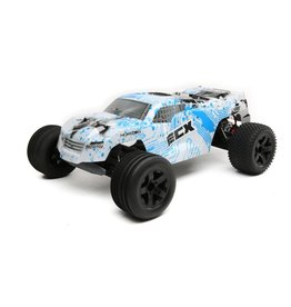 ECX ECX03330T1 CIRCUIT 1/10 2WD BRUSHED W/LIPO WHITE/BLUE