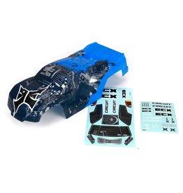 ECX ECX230000 CIRCUIT BODY BLUE/SILVER: 1/10 2WD