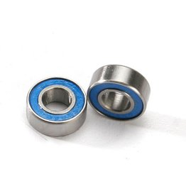 TRAXXAS TRA5180 BALL BEARINGS, BLUE RUBBER SEALED (6X13X5MM) (2)