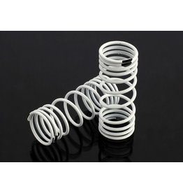TRAXXAS TRA6857 SPRINGS, FRONT (WHITE) (PROGRESSIVE RATE) (2)