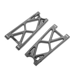 ARRMA AR330333 REAR LOWER SUSPENSION ARMS (2): NERO