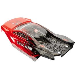 ARRMA AR406135 ARRMA TALION 6S BLX PAINTED BODY RED