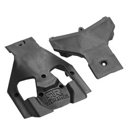 ARRMA AR320283 STEERING SKIDPLATE SET: NERO