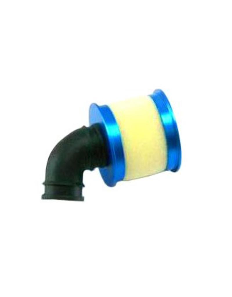 REDCAT RACING 04104B BLUE ALUMINUM CAPPED AIR FILTER