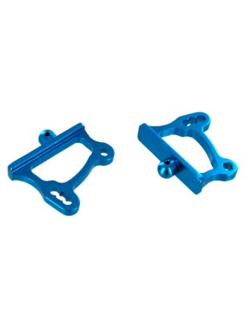 REDCAT RACING 166645 BLUE ALUMINUM ADJUSTABLE WING MOUNTS