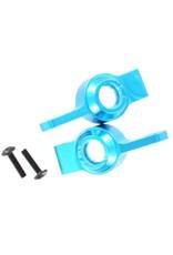 REDCAT RACING 02130B BLUE ALUMINUM REAR HUB CARRIERS