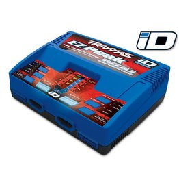 TRAXXAS TRA2972 CHARGER, EZ-PEAK DUAL, 100W, NIMH/LIPO WITH ID AUTO BATTERY IDENTIFICATION