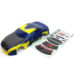 REDCAT RACING 12305 ONROAD CAR BLUE AND YELLOW BODY