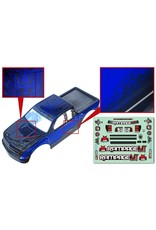 REDCAT RACING 14050-BL TRUCK BLUE BODY