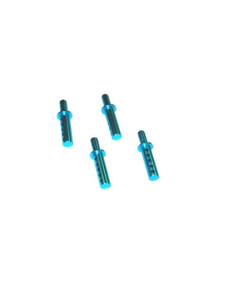REDCAT RACING 08047B BLUE ALUMINUM BODY POST