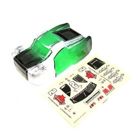 REDCAT RACING BS909-006G CALDERA SHORT COURSE GREEN BODY