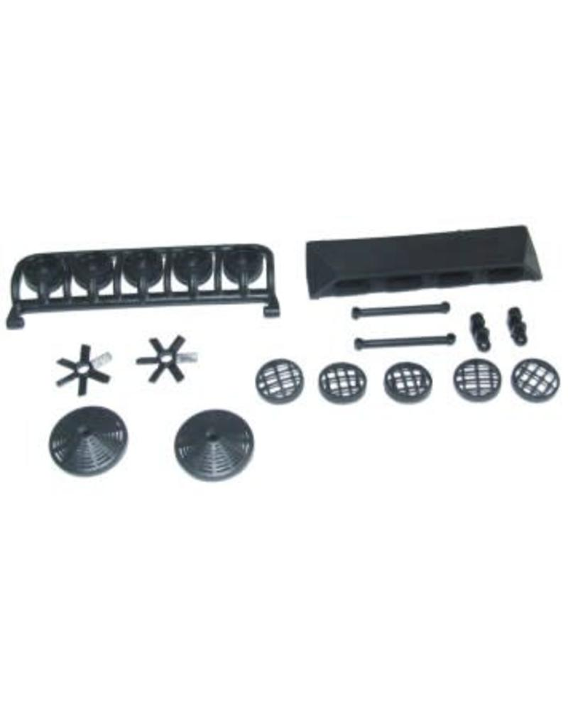 REDCAT RACING 69517 LIGHT BAR ASSEMBLY WITH FANS