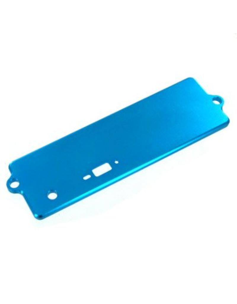 REDCAT RACING 122264 BLUE ALUMINUM BATTERY BOX COV