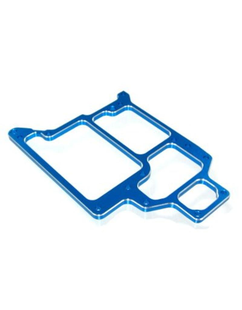 REDCAT RACING 188865 BLUE ALUMINUM RADIO TRAY