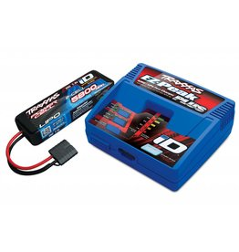 TRAXXAS TRA2992 LIPO PACK, ID CHARGER, 7.4V 5800MAH 25C