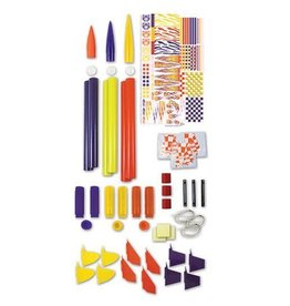 ESTES EST2005 MIX-N-MATCH 50 ROCKET PARTS (50 PCS)