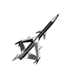 ESTES EST7233 LYNX MODEL ROCKET KIT, SKILL LEVEL 3