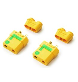COMMON SENSE RC CSRC XT90 FEMALE ANTI-SPARK CONNECTORS (2)