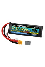 LECTRON PRO LECTRON PRO 4S LIPO 14.8V 5200MAH 50C BATTERY: XT60 WITH TRAXXAS