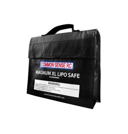 COMMON SENSE RC CSRC MAGNUM XL LIPO SAFE BAG