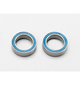 TRAXXAS TRA7020 BALL BEARINGS, BLUE RUBBER SEALED (8X12X3.5MM) (2)