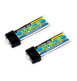 LECTRON PRO LECTRON PRO 1S LIPO 3.7V 160MAH 25C BATTERY (2): MCX