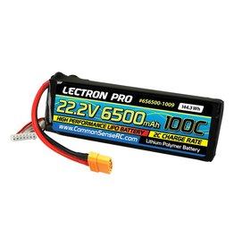 LECTRON PRO LECTRON PRO 6S LIPO 22.2V 6500MAH 100C BATTERY: XT90