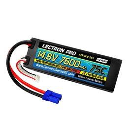 LECTRON PRO LECTRON PRO 4S LIPO 14.8V 7600MAH 75C BATTERY: EC5