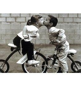 TOMAX TOM50-015 TRICYCLE KISS 500 PCS PUZZLE