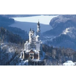 TOMAX TOM100-174 NEUSCHWANSTEIN CASTLE GERMANY 1000 PCS PUZZLE